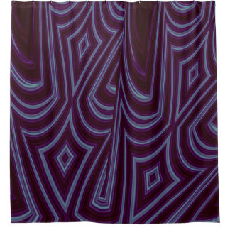 Abstract Purple Harlequin