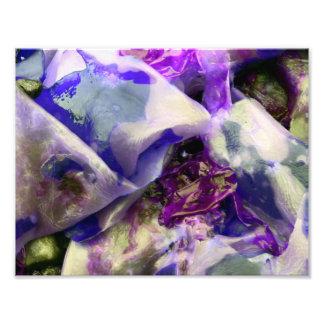 Abstract Purple Kelp Artful Photo Print