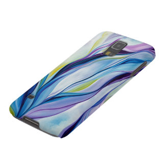 Abstract purple naturalism phone case
