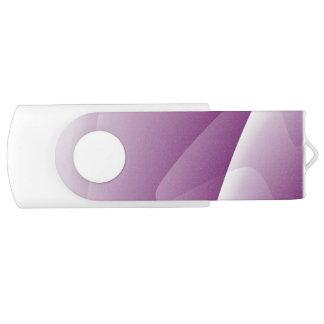 Abstract Purple White 64 GB 3.0 Swivel USB Flash USB Flash Drive