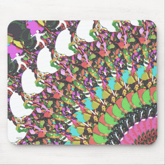 Abstract Putter Design Mouse Pad