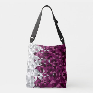Abstract Qatar Flag, Qatari Colors Bag