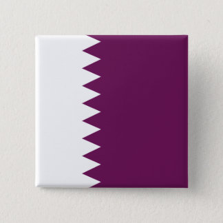 Abstract Qatar Flag, Qatari Colors Button