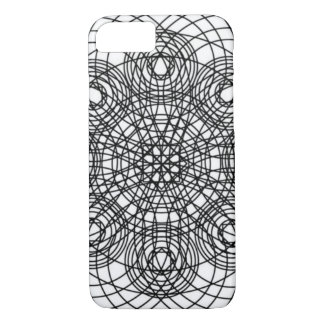 Abstract Quantum Physics Pattern iPhone 7 Case