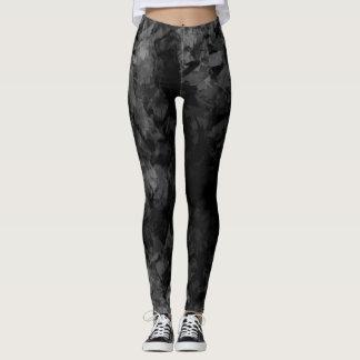 Abstract Radial Gradation - Leggings