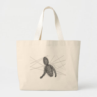 Abstract Rage Tote Bags
