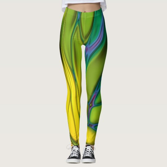 Abstract Rainbow #2 Leggings