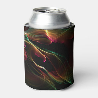 Abstract rainbow background can cooler