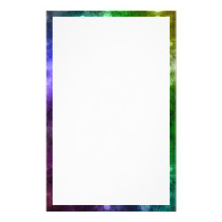 Abstract Rainbow Bokeh Stationery