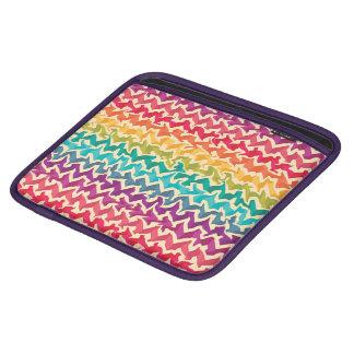 Abstract Rainbow Colored ipad cover iPad Sleeve