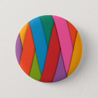 Abstract Rainbow Colors Background 2 Inch Round Button
