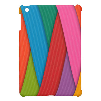Abstract Rainbow Colors Background iPad Mini Cover