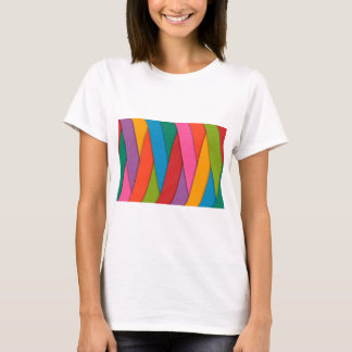 Abstract Rainbow Colors Background T-Shirt