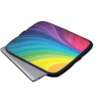 Abstract Rainbow Computer Case