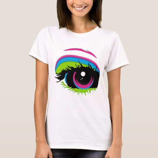 Abstract Rainbow Eye T-Shirt