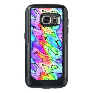 Abstract Rainbow in Pen and Watercolor OtterBox Samsung Galaxy S7 Case