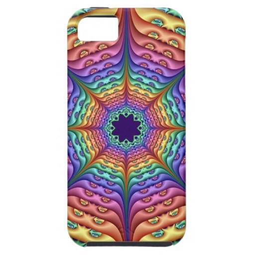Abstract Rainbow Kaleidoscope iPhone 5 Cover