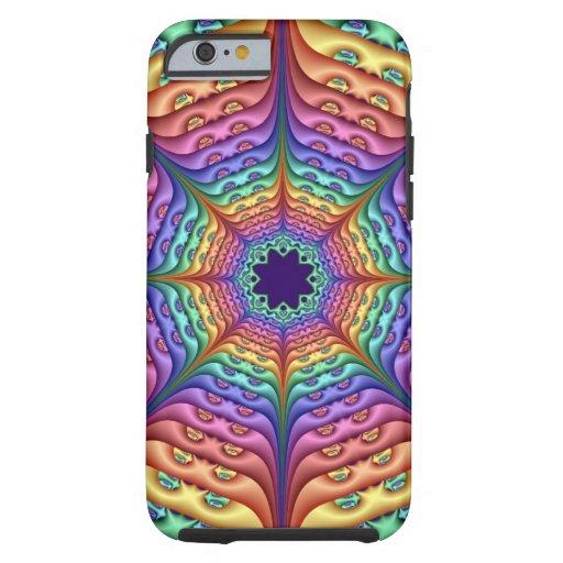 Abstract Rainbow Kaleidoscope iPhone 6 Case