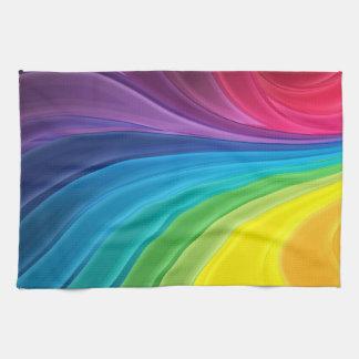 Abstract Rainbow Kitchen Towel