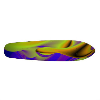 Abstract Rainbow Skate Board Deck