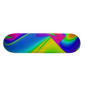 Abstract Rainbow Skate Board Decks
