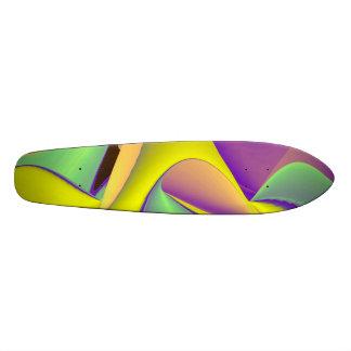 Abstract Rainbow Skate Decks