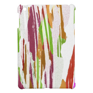 Abstract Rainbow Splash Design iPad Mini Cases