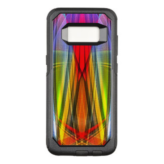 Abstract Rays Of Color OtterBox Commuter Samsung Galaxy S8 Case
