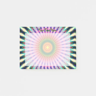 Abstract Rays Post-it Notes