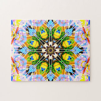 Abstract Reality | Relaxation Mandala Jigsaw Puzzle