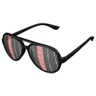 Abstract red and black party shades