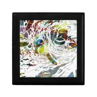 Abstract Red Blood Cells Medical Gifts Gift Box