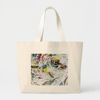 Abstract Red Blood Cells Medical Gifts Large Tote Bag