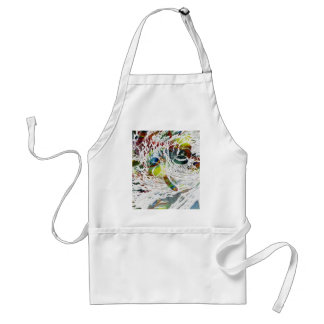 Abstract Red Blood Cells Medical Gifts Standard Apron