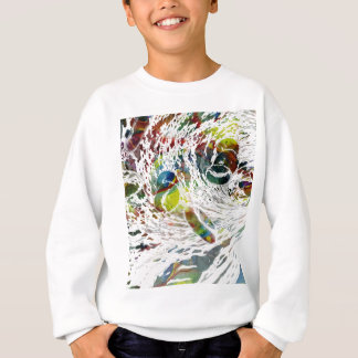 Abstract Red Blood Cells Medical Gifts Sweatshirt