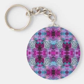 Abstract Redemption Basic Round Button Keychain