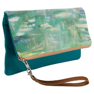 Abstract Reflection fold over clutch
