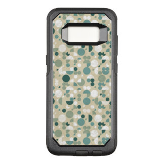 Abstract retro pattern OtterBox commuter samsung galaxy s8 case