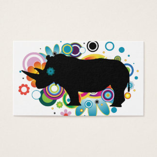 Abstract Rhino Business Cards