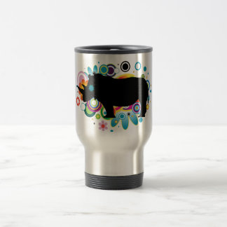 Abstract Rhino Travel/Commuter Mug