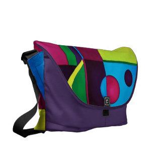 Abstract Rickshaw Bag Commuter Bags