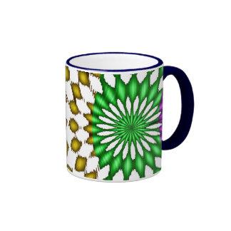 abstract ringer mug