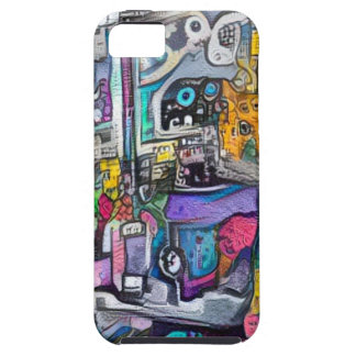 Abstract rock band iPhone 5 cover