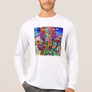Abstract Rock Star Portrait T-shirts