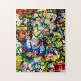 Abstract Rock Women Jigsaw Puzzle