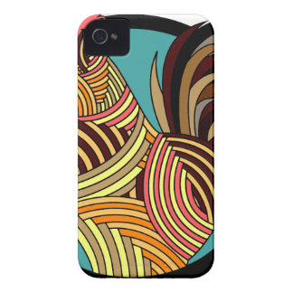 Abstract Rooster Case-Mate iPhone 4 Case
