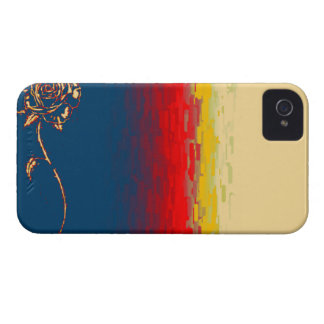 Abstract Rose Blackberry Bold Case. iPhone 4 Case-Mate Case
