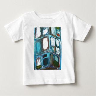 Abstract Round Bold City Blocks Baby T-Shirt