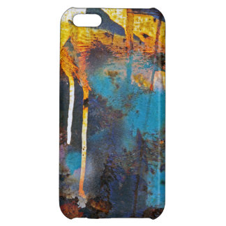 Abstract Rust iPhone 5C Cases