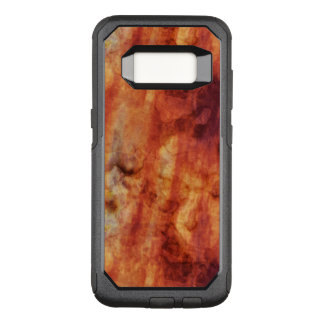 Abstract Rusty Reds and Oranges OtterBox Commuter Samsung Galaxy S8 Case